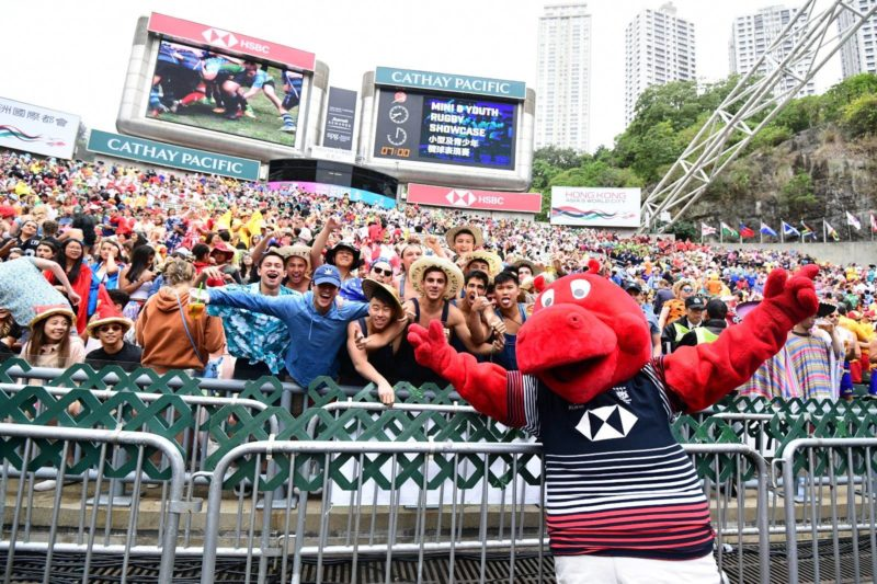BEST DRESSED AT HONG KONG SEVENS